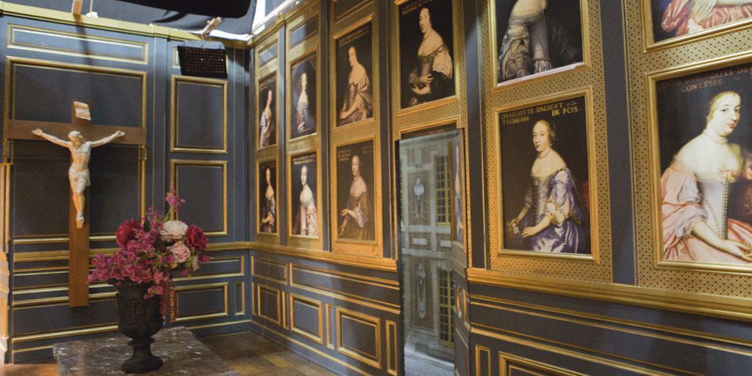 salle portraits de femmes