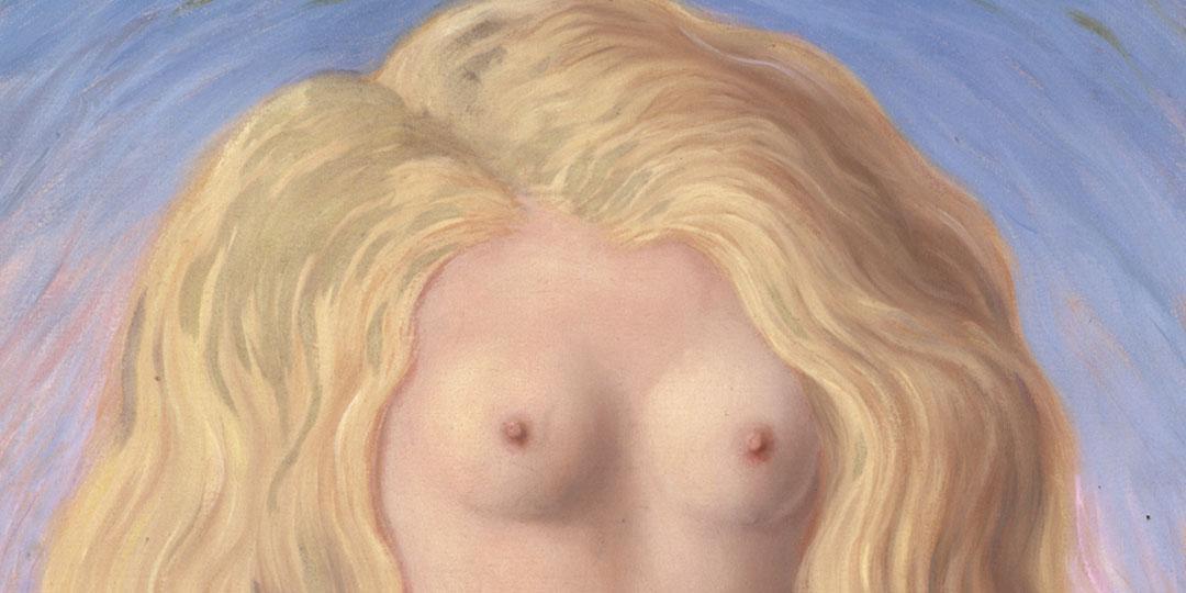 Le viol, René Magritte, Centre Pompidou - Musée national d'art moderne - Centre de création industrielle