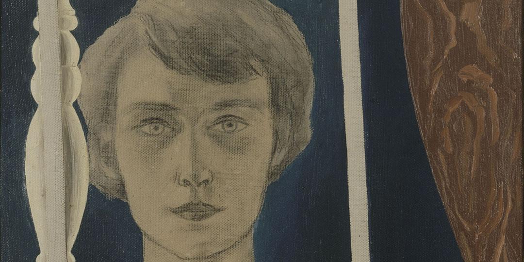 Portrait de Georgette au bilboquet, René Magritte, Centre Pompidou - Musée national d'art moderne - Centre de création industrielle
