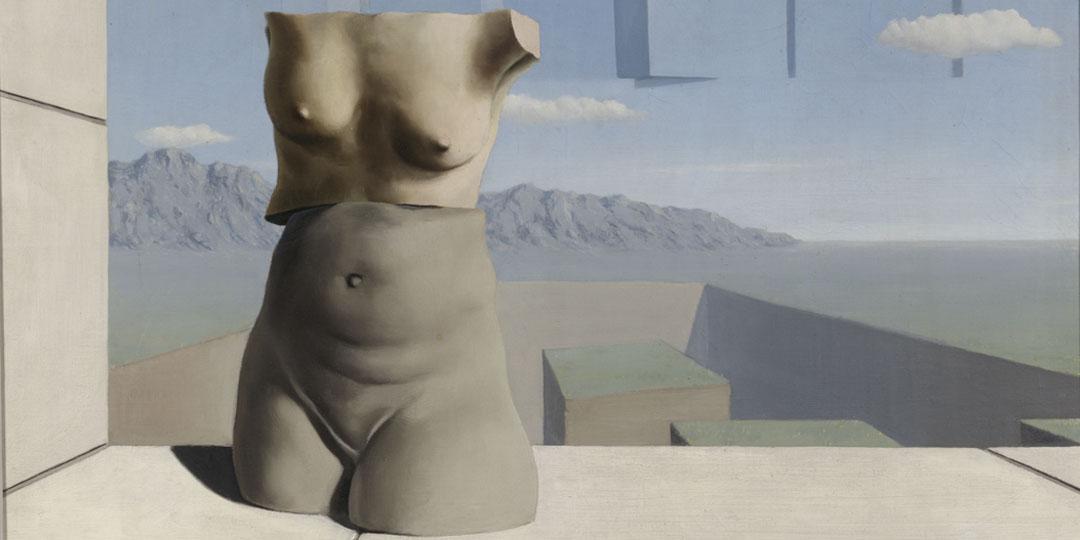 Les marches de l'été, René Magritte,Centre Pompidou - Musée national d'art moderne - Centre de création industrielle