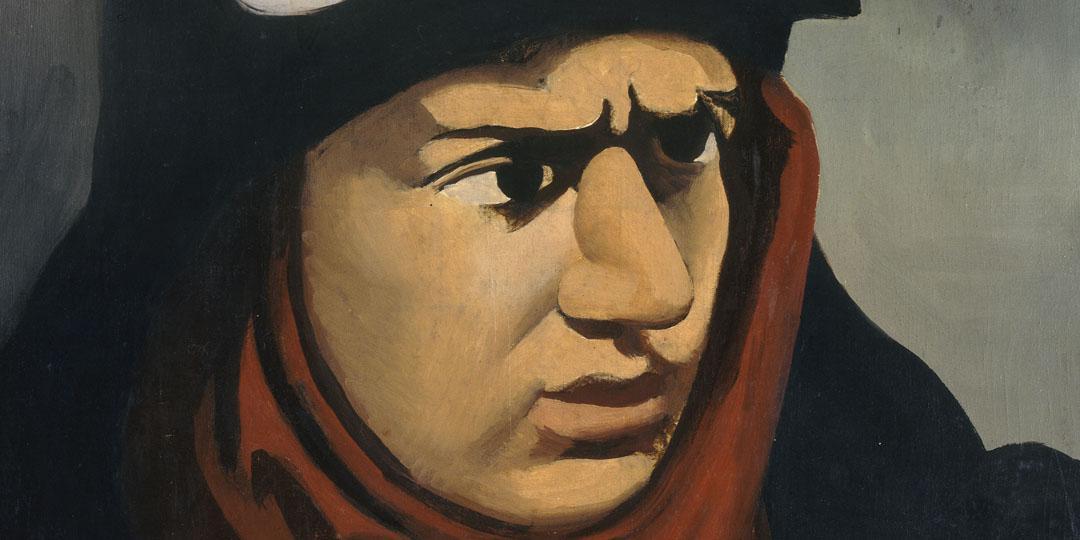 Portrait de Guynemer, Roger de La Fresnaye, Centre Pompidou