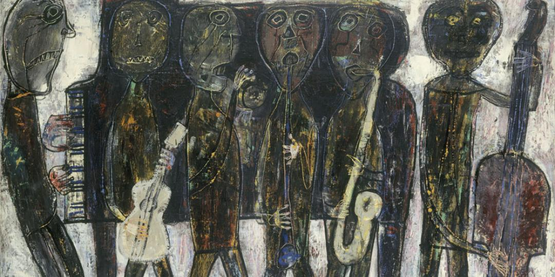 Jazz band (dirty style blues), Jean Dubuffet, Paris, Centre Pompidou - Musée national d'art moderne - Centre de création industrielle