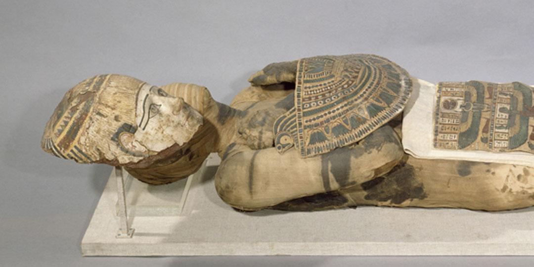Mummy of Pachery, Paris, Musée du Louvre