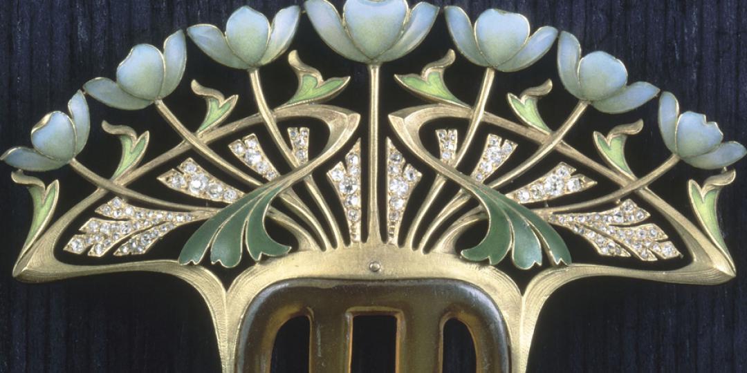 Henri Dubret (1872-1947) : Peigne, conservé au musée d'Orsay