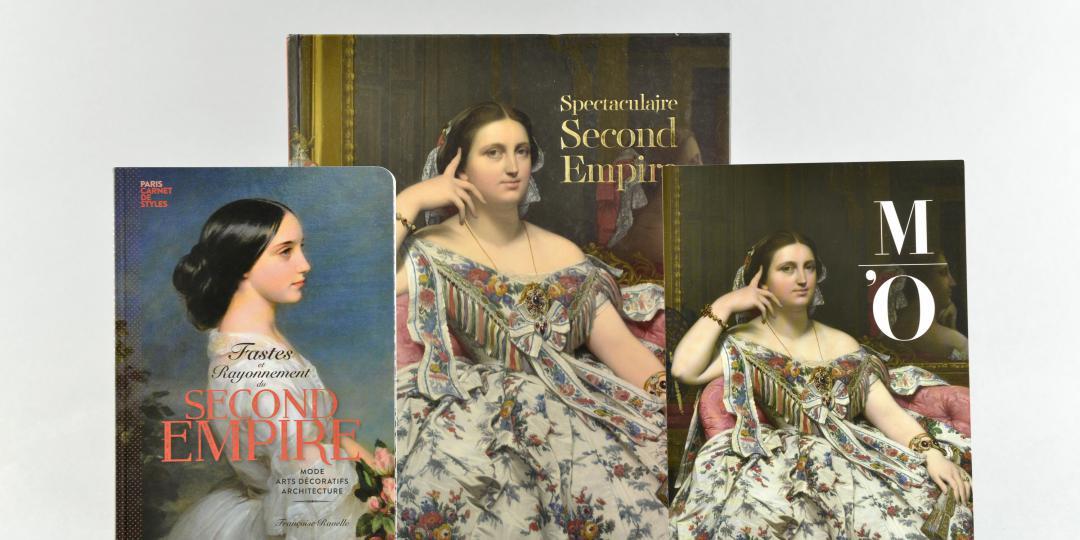 Couverture du catalogue de l'exposition du Musée d'Orsay, du livre Parigramme et du carton d'invitation