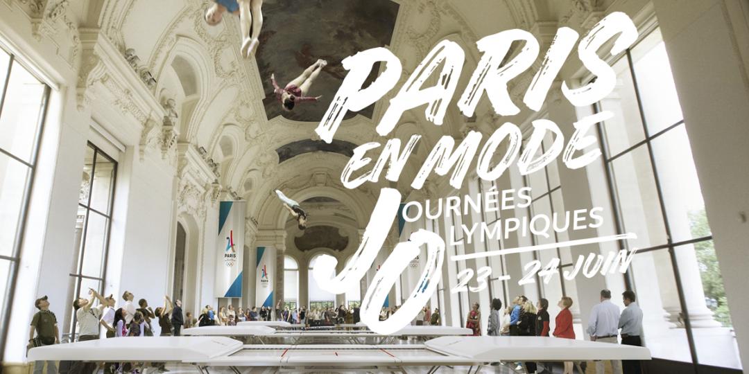 Paris célèbre l'olympisme, 23-24 juin 2017
