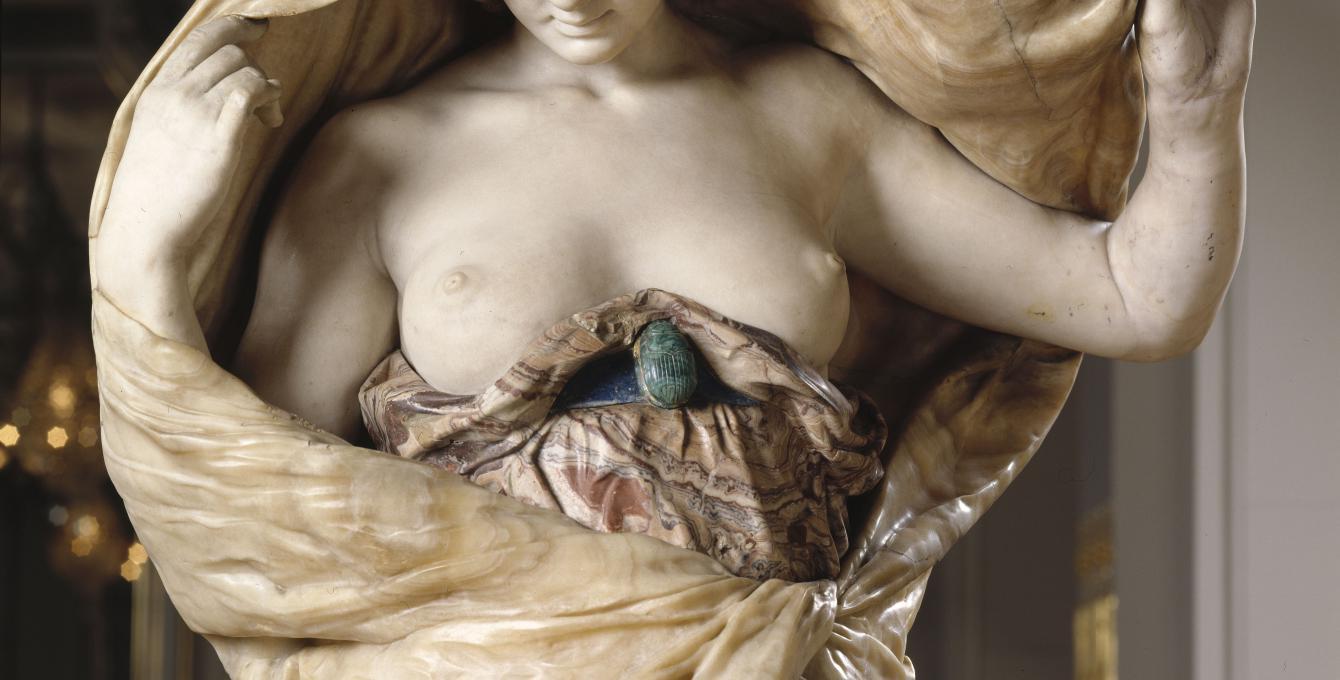 La Nature se dévoilant à la science, Louis Ernest Barrias, Paris, musée d'Orsay