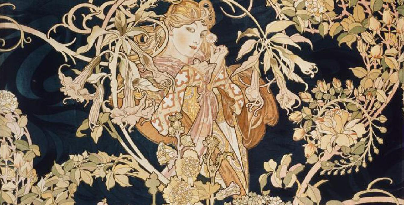 Alfonse Mucha, le maître de l'Art Nouveau au musée du Luxembourg
