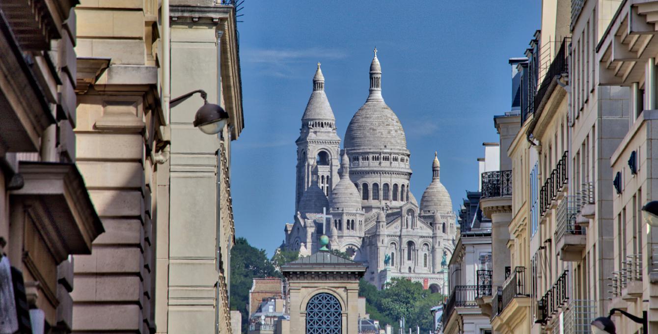 Vue sur la Basilique du Sacré-Coeur, Jérôme Prince. Photo (C) Jérôme Prince, Dist. RMN-Grand Palais / Jérôme Prince. (C) RMN-Grand Palais - Gestion droit d'auteur.
